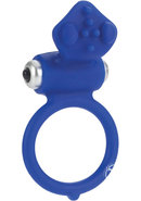 Body And Soul Affection Silicone Cockring Waterproof Blue...