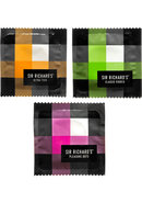 Sir Richards Collection Assorted Condoms 3 Each Per Pack