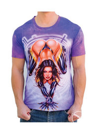 Latex Girl Mens T Shirt - Xxl