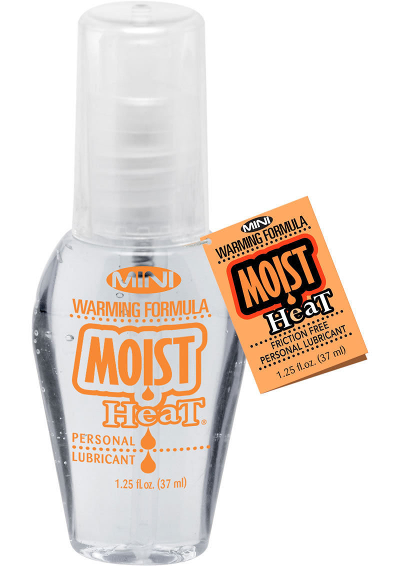 Mini Moist Heat Warming Water Based Lubricant 1.25 Ounce