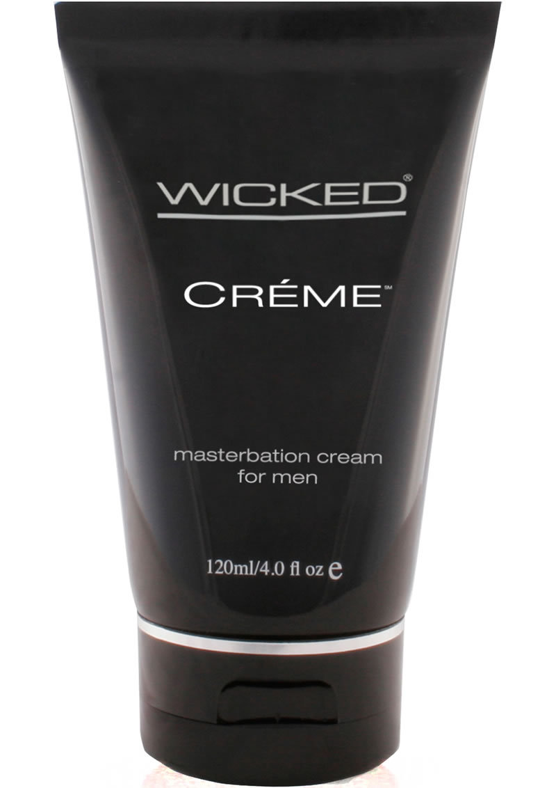 Wicked Creme Masturbation Cream For Men 4 Ounce
