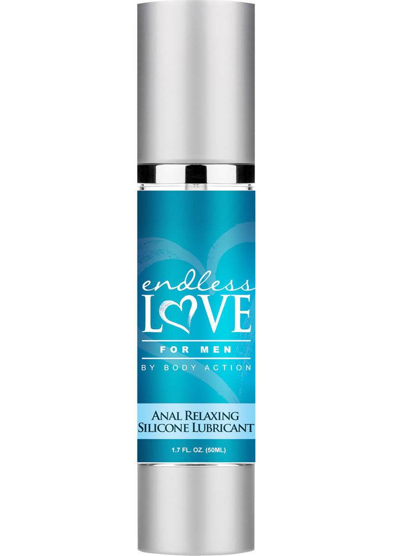 Endless Love For Men Anal Relaxing Silicone Based Lubricant 1.7 Ounce