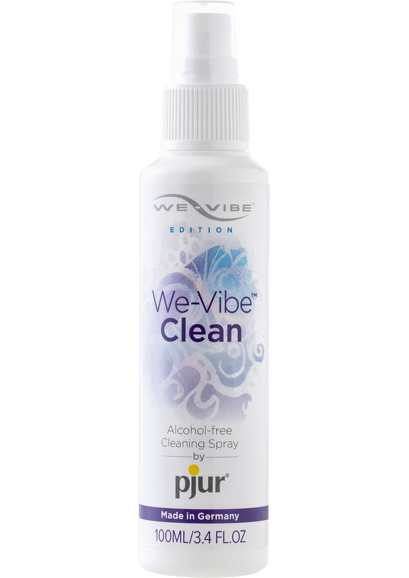We-vibe Clean Alcohol Free Toy Cleaning Spray 3.4 Ounce