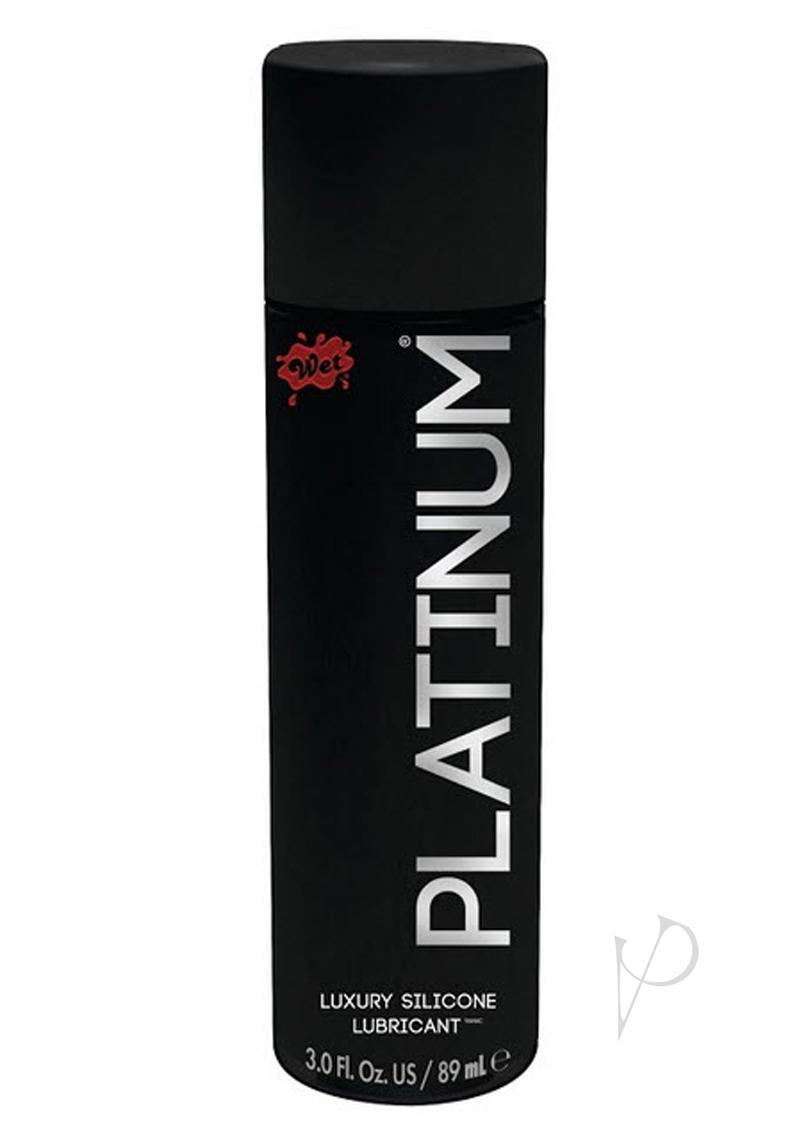 Wet Platinum Silicone Lube 3 Ounces